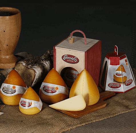 Gama quesos Fontelas
